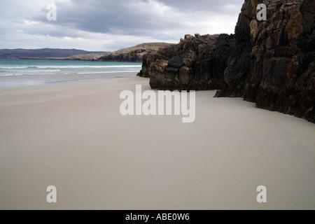GB SCOZIA Sango baia vicino a Durness nelle Highlands Foto Stock