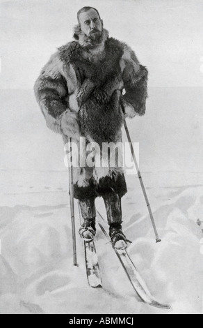 Capitano Roald Engelbregt Gravning Amundsen, da 1872 a 1928 esploratore norvegese delle regioni polari Foto Stock