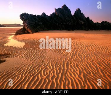 GB - Scozia: Sango Beach vicino a Durness Foto Stock