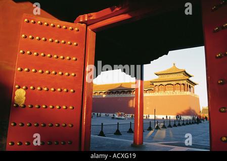 La Città Proibita di Pechino CINA Foto Stock