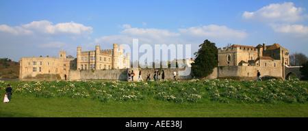 Kent, il Castello di Leeds Foto Stock