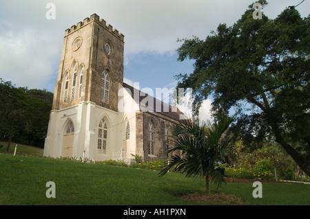 Sant'Andrea Chiesa Parrocchiale di St Andrew parrocchia, Barbados Foto Stock