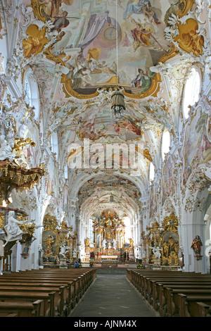 Rottenbuch Alta Baviera Germania ex chiesa dell'ordine agostiniano