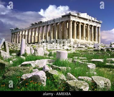 GR - Atene: l'Acropoli Foto Stock