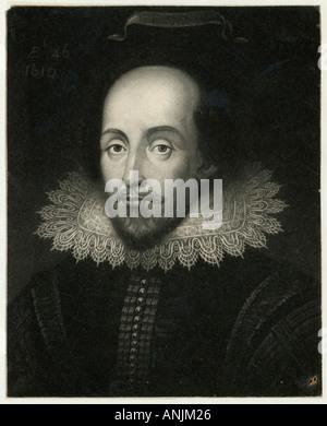 Shakespeare Janssen Coop Foto Stock