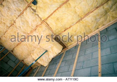 R30 R15 e R38 isolamento installato nel nuovo stile loft home in costruzione Tucson in Arizona