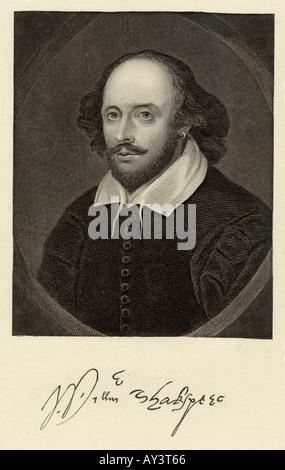 Shakespeare Chan Anon Foto Stock