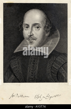 Shakespeare Droes Bell Foto Stock