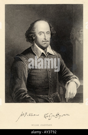 Shakespeare Holl Foto Stock