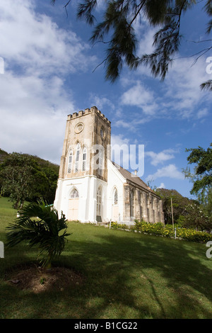 St Andrews Chiesa Parrocchiale Barbados Caraibi Foto Stock