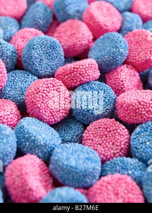 pulsanti di gelatina Foto Stock