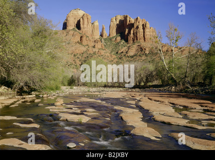 Geografia / viaggi, USA, Arizona, paesaggi, Oak Creek Canyon, Cattedrale Rock, Additional-Rights-Clearance-Info Foto Stock