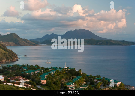 Saint Kitts e Nevis, Saint Kitts, Brimstone Hill, Brimstone Hill Fortress Foto Stock