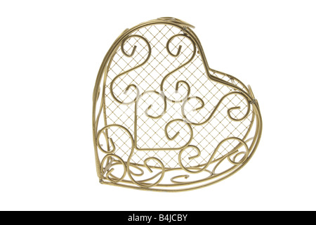 Heart-Shaped Scatola in metallo