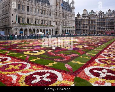 Tappeto Floreale Bruxelles : Tappeto del fiore su grand place bruxelles fotografia stock