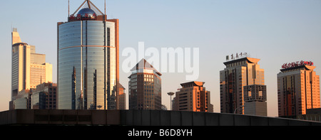 Cina Pechino Central Business District skyline Foto Stock