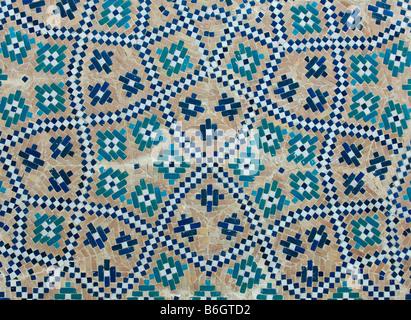 Sfondo piastrelle decorazioni orientali da uzbekistan foto