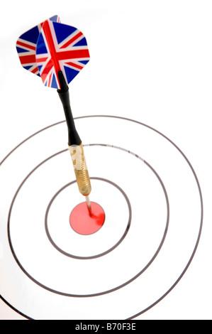 Bullseye Foto Stock