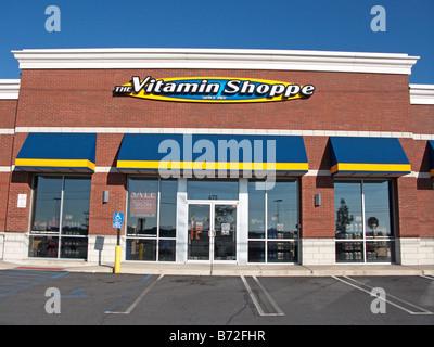 La vitamina shoppe Foto Stock
