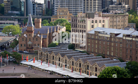 Campbell's magazzini e australasian steam navigation co., sydney, Australia Foto Stock