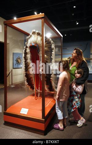 Museo Glenbow, Calgary, Alberta, Canada Foto Stock