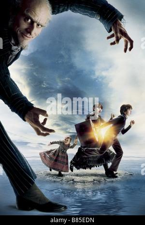 Lemony Snicket una serie di sfortunati eventi Anno : 2004 - USA Jim Carrey Direttore : Brad Silberling poster del Foto Stock