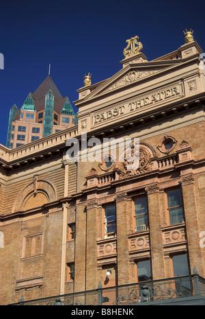 Pabst Theater Downtown Milwaukee, WI, Stati Uniti d'America Foto Stock