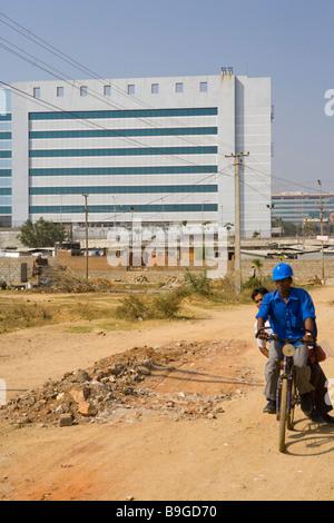 India Hyderabad Hi Tech city Foto Stock