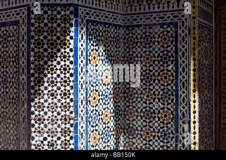 Marocchina di piastrelle a mosaico foto & immagine stock: 177259343