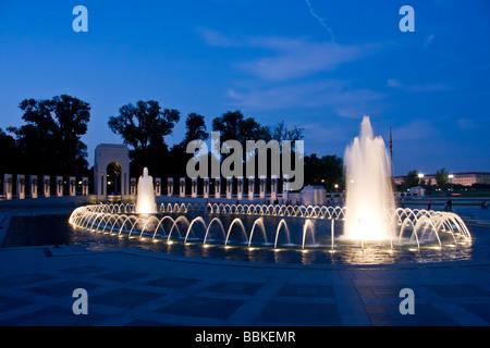 Gli Stati Uniti National Memoriale della Seconda Guerra Mondiale Foto Stock