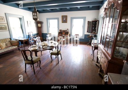 Sint Eustatius Oranjestad il museo storico Foto Stock