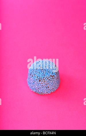 Gelatina blu pulsante di liquirizia Foto Stock