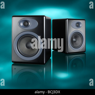 Home Audio altoparlanti square Foto Stock