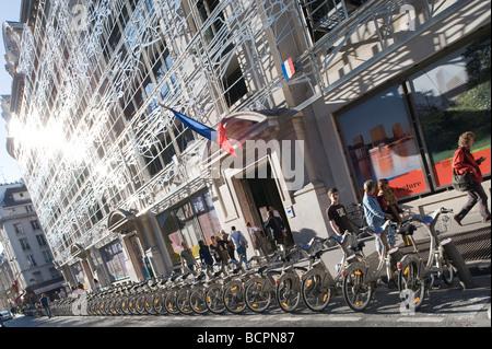 Parigi Kulturministerium Francesco Soler Frédéric Druot 2004 Parigi Ministero della Cultura Francesco Soler Frédéric Druot 2004 Foto Stock
