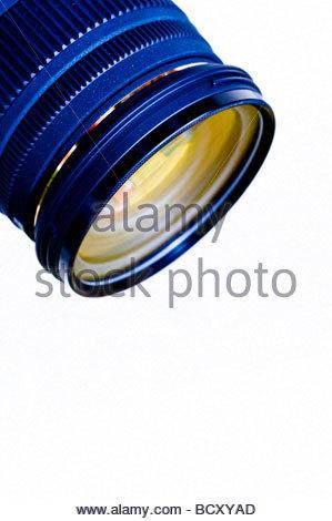 Obiettivo della fotocamera Foto Stock