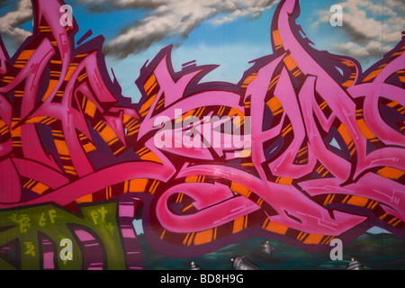 Graffiti Foto Stock