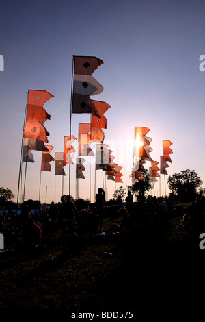 Glastonbury Festival 2009 Foto Stock