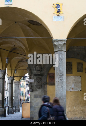 San Giovanni Valdarno street life Foto Stock