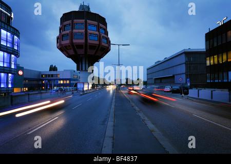 Berlino. Germania. Bierpinsel, insolito a partire dagli anni settanta bar & ristorante edificio di Stegliz. Foto Stock