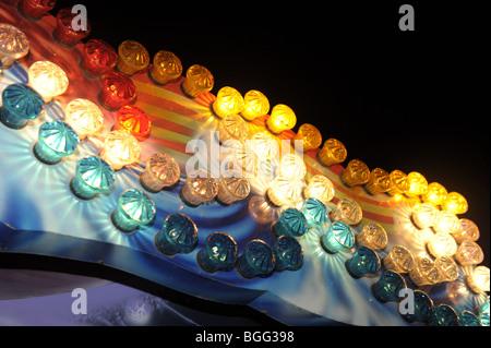 Le luci della fiera Foto Stock