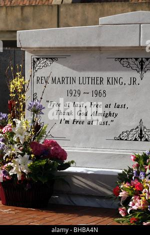Tomba di Martin Luther King Jr., National Historic Site, Atlanta, Georgia, Stati Uniti d'America