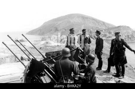 Eventi, Seconda Guerra Mondiale / La seconda guerra mondiale, la Russia 1944 / 1945, Crimea, Generale Richard Reimann, Foto Stock