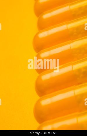 In prossimità della medicina in pillole Foto Stock