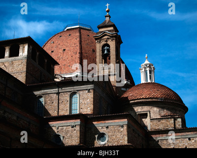 Basilica di San Lorenzo (Basilica di San Lorenzo), Firenze, Italia Foto Stock