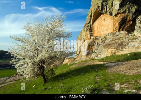 Le antiche rovine della Frigia, Afyon Turchia Foto Stock