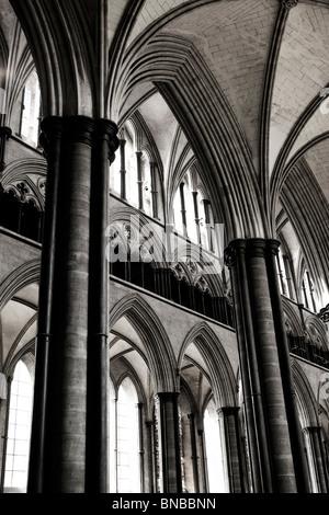 La Cattedrale di Salisbury interno