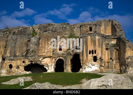Le antiche rovine di Phyrigia Afyon Turchia Foto Stock