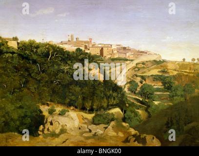 Jean Baptiste Camille Corot Volterra La Cittadella Wga5283 Foto