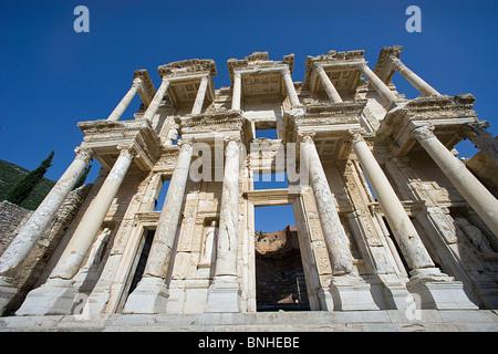 La Turchia Giugno 2008 Efeso città antica città antica sede storica rovina rovine greco ellenistico storia romana Foto Stock