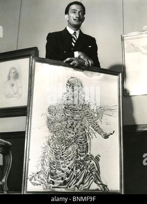 SALVADOR DALI (1984-1989) artista spagnolo Foto Stock